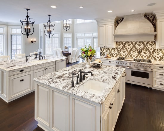 Alternatives To Granite Countertops : An Alternative to Marble- White Granite Countertops1