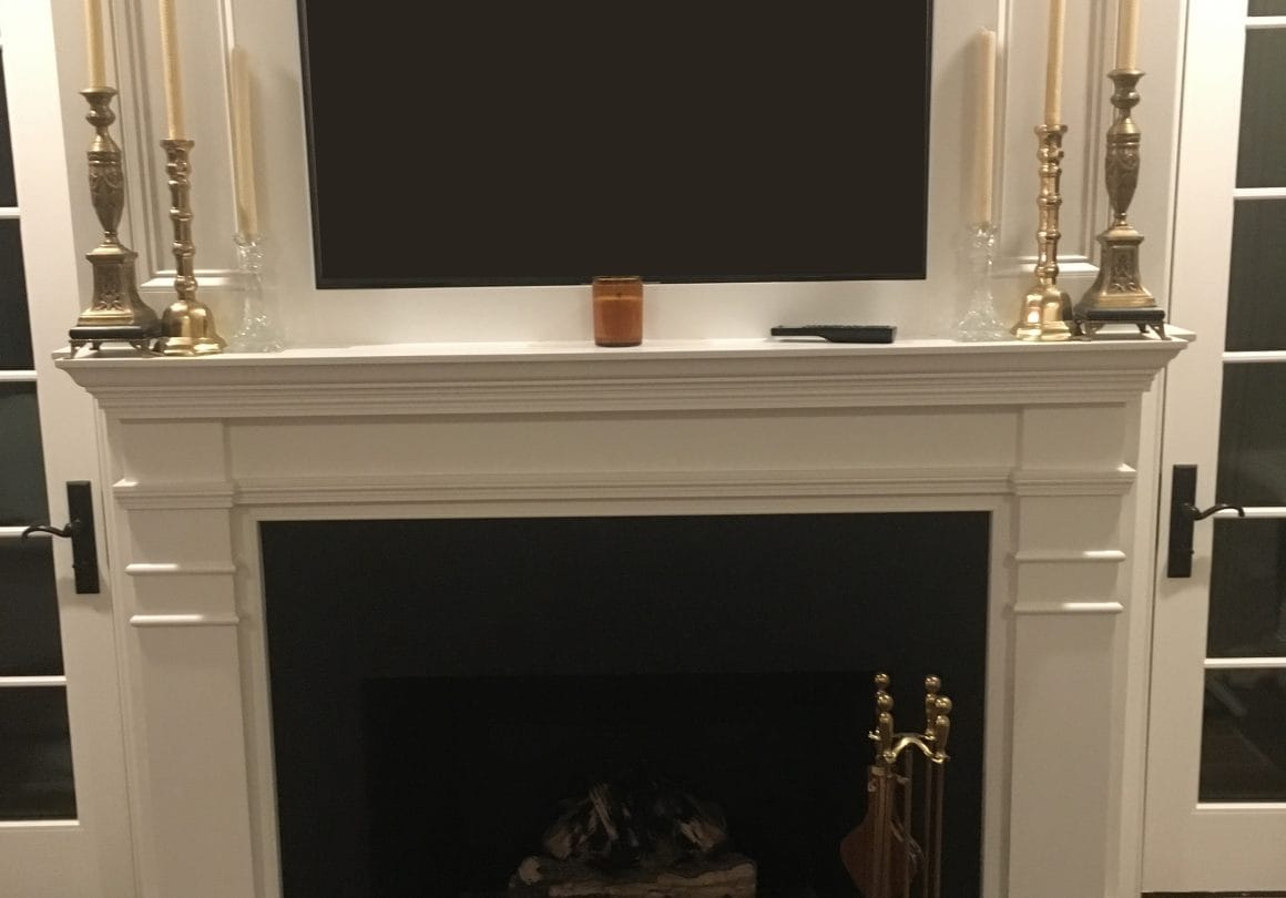 Black Pearl Honed–Granite–Install–Fireplace–Absolute (Fabricator)–Selden Martin (Home Owner)2