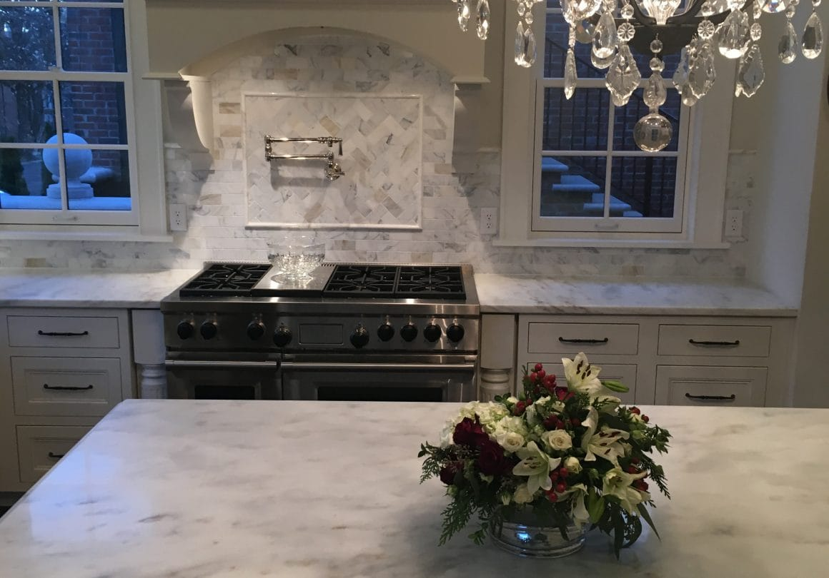 Imperial Danby–Danby Marble–Install–Kitchen–Absolute (Fabricator)–Selden Martin (Home Owner)2