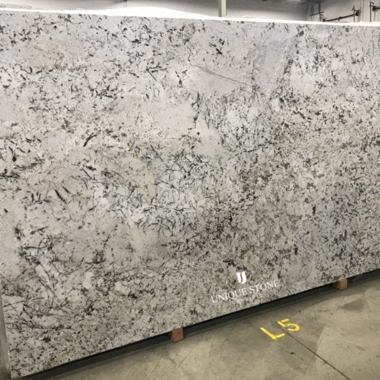 White Copenhagen Suede-Granite-Slab